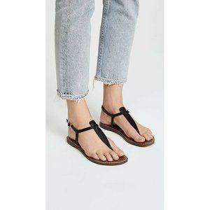 Sam Edelman Womens Shoes Black GiGi Flat Sandals